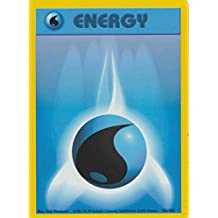 Pokemon Base Set Common Card #102/102 Water Energy