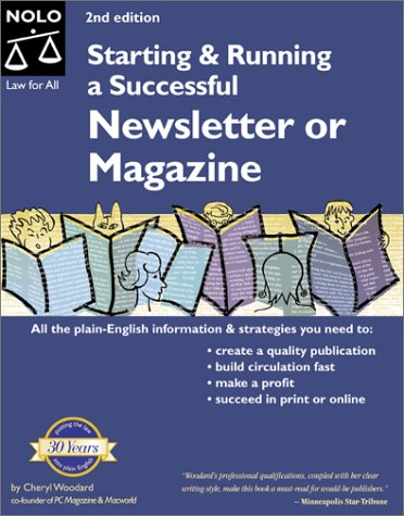 Starting and Running a Successful Newsletter or Magazine Starting & Running a Successful Newsletter or Magazine: Amazon.es: Cheryl Woodard: Libros en ...