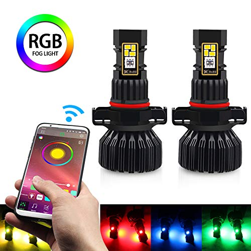 Multi Color Led Fog Light Bulb in US - 1