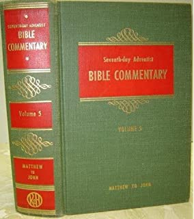 The seventh day adventist bible commentary volume 1 genesis to seventh day adventist bible commentary volume five matthew to john fandeluxe Gallery