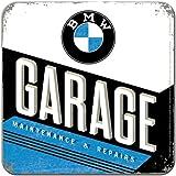 Nostalgic-Art 46145 BMW - Garage, Metall-Untersetzer