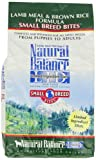 Natural Balance L.I.D. Limited Ingredient Diets Lamb Meal and Brown Rice Small Breed Bites Formula for Dogs, 5-Pound Bag, My Pet Supplies