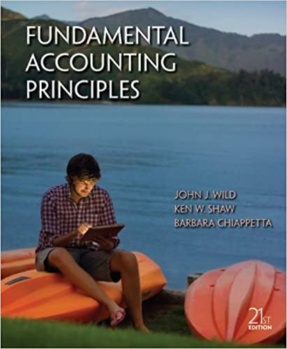principles financial accounting 21st edition by wild