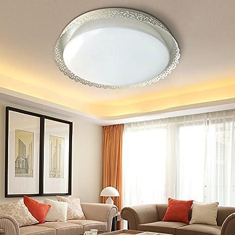 lfnrr Fácil Estilo Fácil acrílico lámpara de techo bajo ...