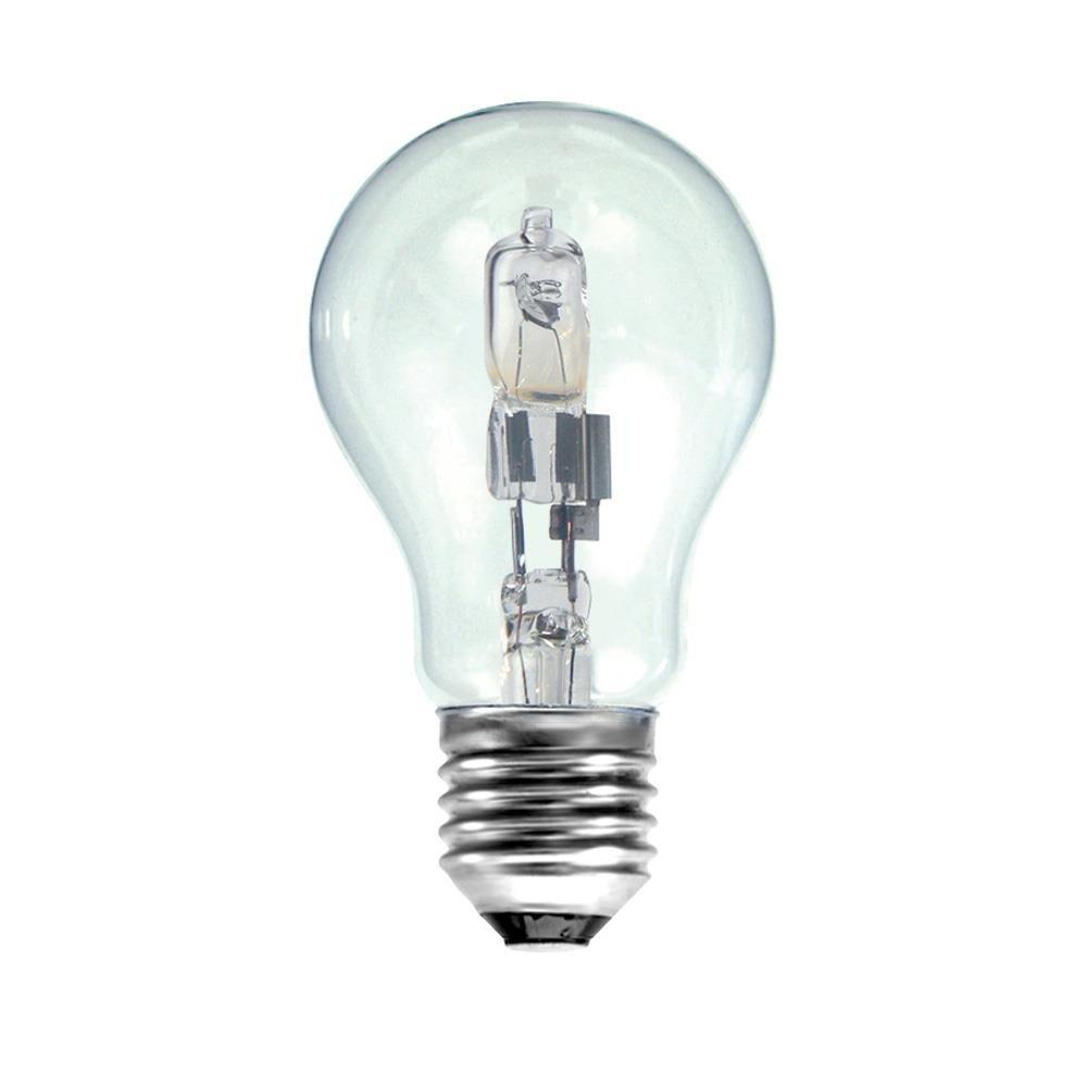 Lampadine tradizionali alogene Gls a risparmio energetico, 100 W = 135 W, attacco Standard Edison E27, confezione da 10 Branded