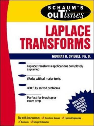 Schaums Outlines: Laplace Transforms