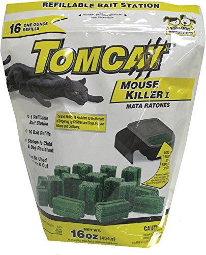 (Motomco Tomcat Refill Mouse Killer,)