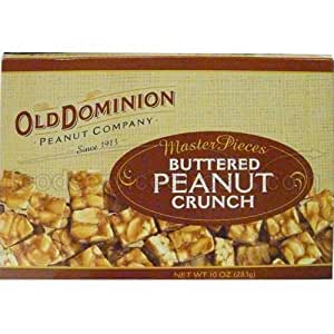 Old Dominion Buttered Peanut Crunch 10 Ounce 6 Per Case.