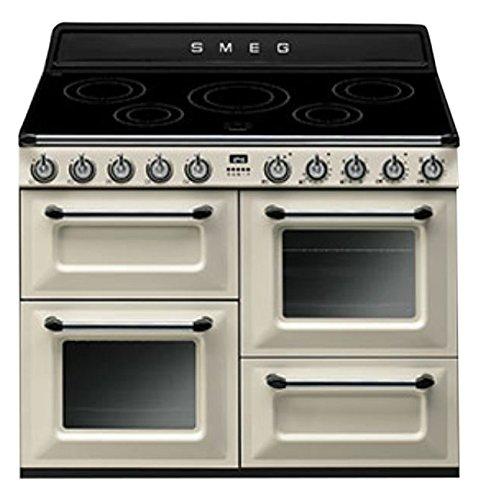 pas cher pour réduction e2b09 d80d7 Smeg TR4110IP Cuisinière Plaque avec zone à induction A Noir ...