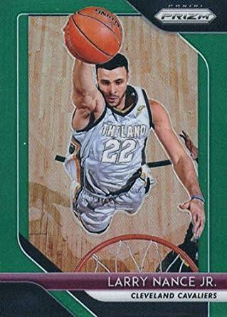 95c481eba 2018-19 Panini Prizm Prizms Green  210 Larry Nance Jr. Cleveland Cavaliers  Basketball