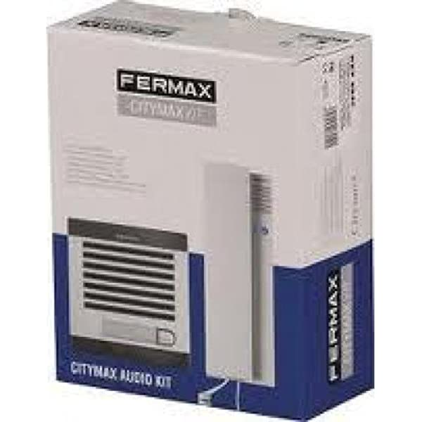 Kit de portero sistema analogico AUDIO CITYMAX 1 Vivienda Fermax 6940 (4+N): Amazon.es: Electrónica
