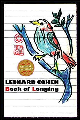 Image result for leonard cohen book of longing