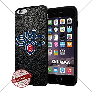 """NCAA Saint Marys Gaels Cool iPhone 6 Plus (6+ , 5.5"""") Smartphone Case Cover Collector iphone TPU Rubber Case Black"""