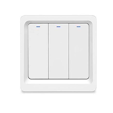 Keine neutrale Leitung erforderlich WiFi Smart Switch Sprachsteuerung für Alexa
