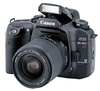 amazon com canon eos elan 7e 35mm slr camera kit w 28 90mm lens rh amazon com Canon Elan Camera canon elan 7 instruction manual
