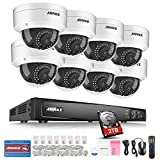 ANNKE Video Surveillance Kit 16CH 1080P POE NVR Advanced H.264 Video Compression Security Camera Systems with 8x 2.0MP Day/Night Vision IP66 Weatherproof Surveillance Dome IP Camera with 2TB HDD