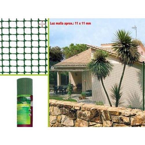 Intermas M92717 quadrata c112-Tessuto-verde 1 x 25 m