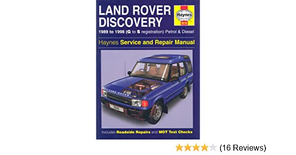 Land rover discovery full service repair manual array land rover discovery 1989 to 1998 g to s registration petrol rh amazon com fandeluxe Gallery