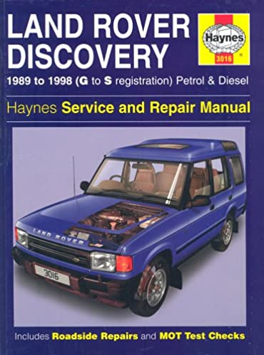 land rover discovery 1989 to 1998 g to s registration petrol rh amazon com 1998 range rover repair manual 1998 land rover discovery owners manual