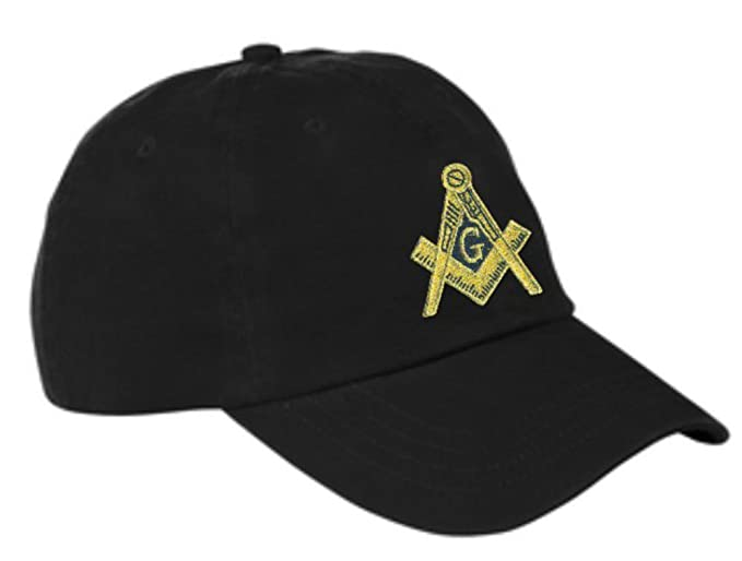 Express Design Group Mens Masonic Hat With Free Mason Symbol And