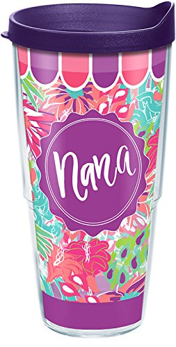 Tervis Simply Southern Jungle Pattern Nana Wrap 24oz with Travel Lid (Jungle Patterns)