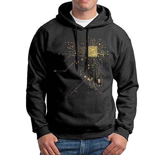 art Geek Nerk Pc Gamer Hoodies Sweatshirt Autumn Winter Men's Long Sleeve Pullovers (Heart Pullover Hoody Sweatshirt)