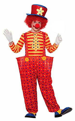 [Forum Novelties Hoopy the Clown Child Costume, Medium] (Hoopy The Clown Boys Costumes)