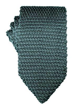 Green Knit Skinny Tie   5 Year Warranty   Gifts for Men   Groomsmen Accessories   Wedding Tie
