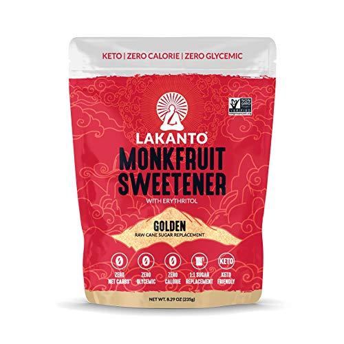 Lakanto Golden Monkfruit Sweetener - 1:1 Raw Cane