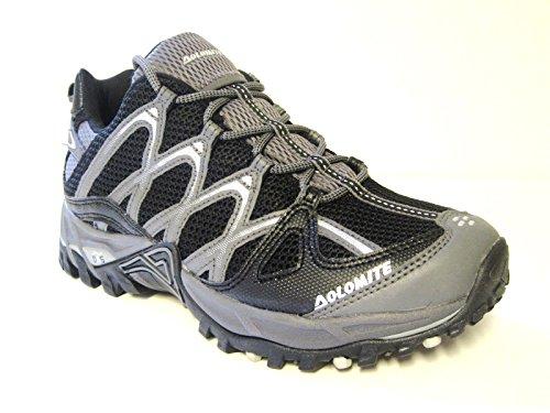 Dolomite - Zapatillas de senderismo para hombre Negro negro