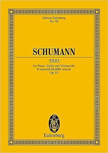 Gratis ebøger liste download PIANO TRIO OP63              D MINOR                      STUDY SCORE (Edition Eulenburg) på Dansk FB2 3795768861