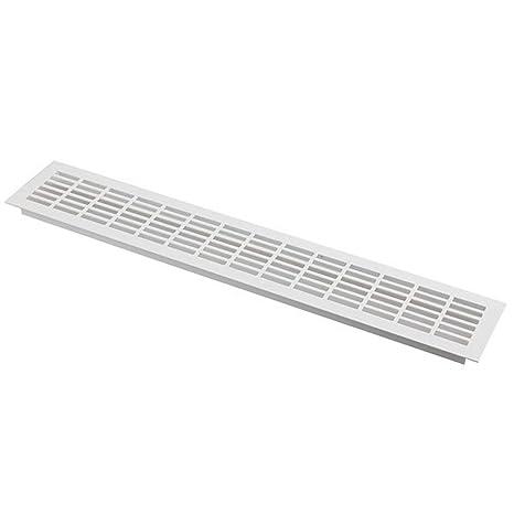 Aluminium L/üftungsgitter Silber 40 x 300mm Stegblech L/üftung Alu-Gitter Gitter M/öbelgitter M/öbell/üftung