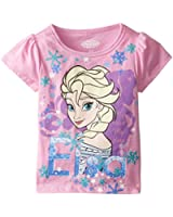 Disney Girls' Frozen Elsa T-Shirt