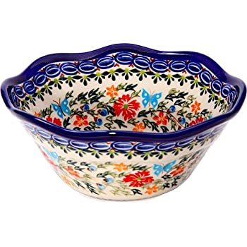 Amazon Polish Pottery Ceramika Boleslawiec 6060 Bowl Viki Magnificent Polish Pottery Patterns