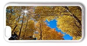 iPhone 6 Cases 4.7inch, Aspens In Autumn Designer Case for iPhone 6 4.7inch TPU Transparent