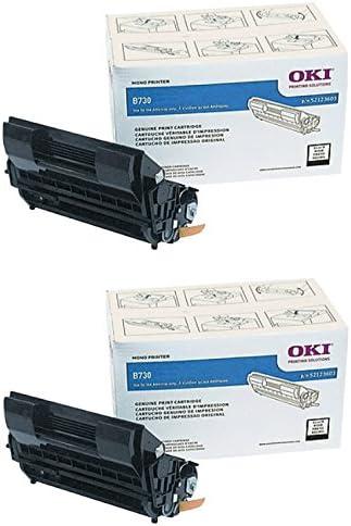 Oki 52123601 Toner Cartridge 15 000 Page-Yield Black
