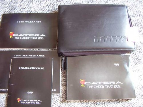 1999 Cadillac Catera owners manual