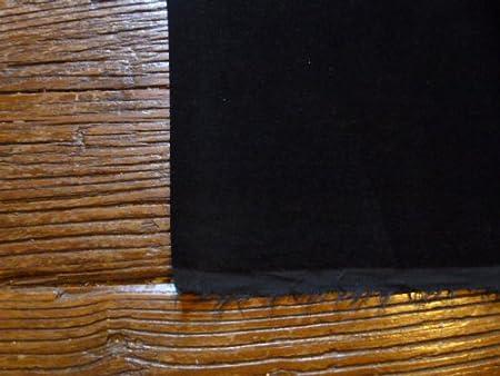 Negro Terciopelo de algodón vestido/pana 112 cms de ancho., 240 g ...