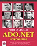 img - for Professional ADO.NET Programming book / textbook / text book