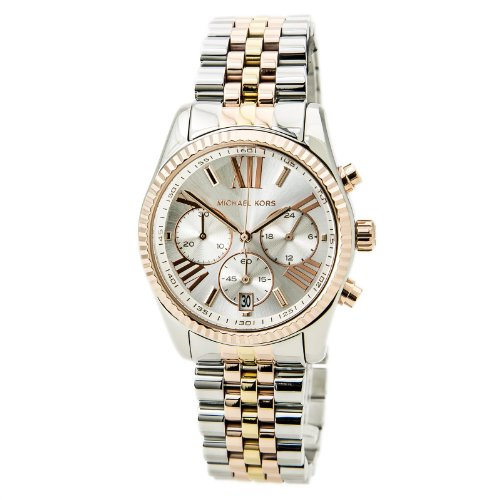 (Michael Kors Women's MK5735 - Sport Lexington Chronograph Tri-Tone)