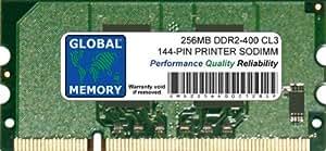 256MB 144-PIN DDR2 SODIMM MEMORIA RAM PARA IMPRESORAS (CC415A , CLP-MEM202 , 311-9272 , CB423A , MDDR2-256)
