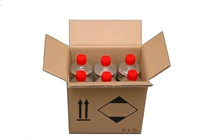 Para uso en chimeneas y estufas. Juego de 2 x 5 L Get Buy 2L incluye: Amazon.es: Hogar