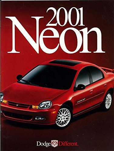 2001 Dodge Neon Sales Brochure Literature Book Options Colors Specifications OEM