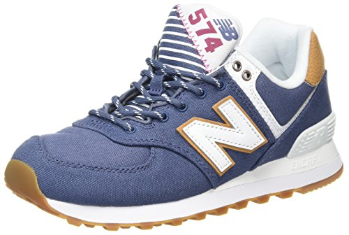 New Balance Women's Wl574v2 Yatch Pack Trainers Blue (Blue) 1na7DM