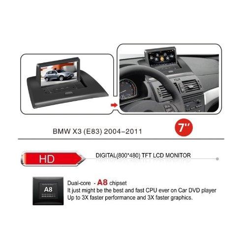 best realmedia bmw x3 e83 oem digital touch screen car. Black Bedroom Furniture Sets. Home Design Ideas