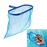 TXIN Pool Skimmer, Swimming Pool Cleaning Net Fine Mesh Pool Leaf Skimmer Swimming Pool Spa Tool for Cleaning Swimming Pool Leaves Bugs Debris, Blue