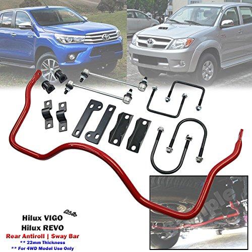 Rear Anti Roll Sway Bar Stabilizer Kits For Toyota Hilux VIGO REVO 4WD 4x4