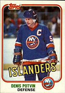 1981 Topps Hockey Card (1981-82) #27 Denis Potvin Excellent
