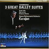 カラヤン チャイコフスキー 3大バレエ音楽 美しくも儚い恋の結末・・・華麗にして繊細なるバレエ音楽決定版 !! EJS1017