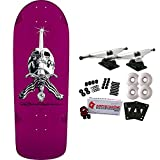 POWELL PERALTA Skateboard Complete Rodriguez Skull and Sword Snub Purple